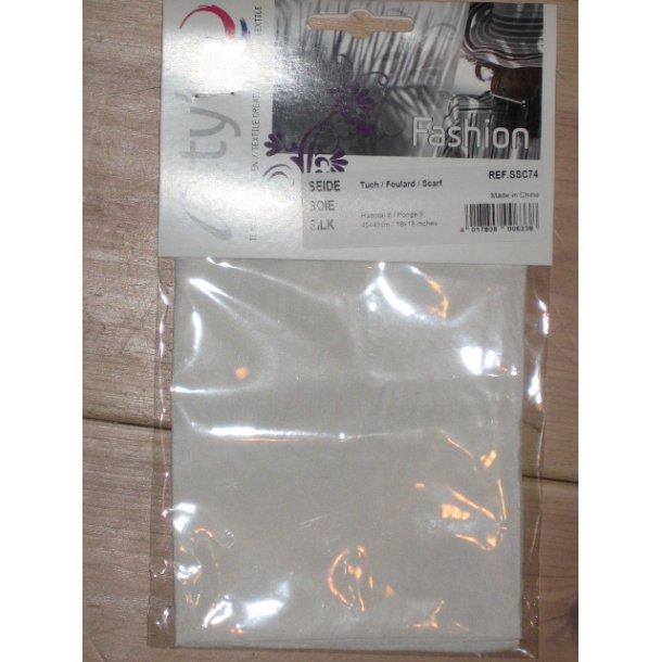 silk pongé 05, 22gram, 100% silk, 45x45cm