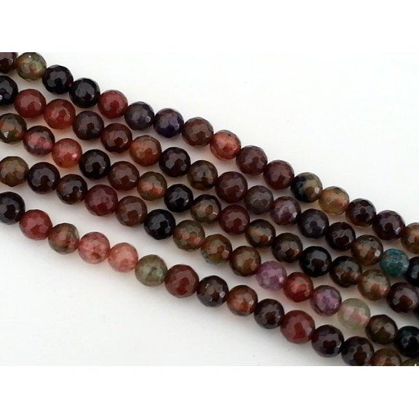 6mm agat perle multi fv-1.