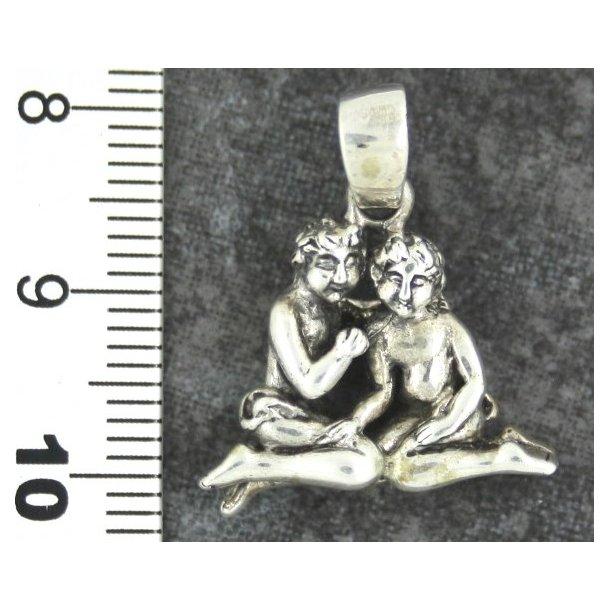 S925 sterling sølv stjernetegn,Tvillingen
