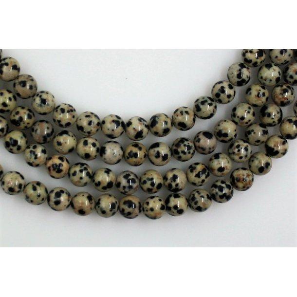 8mm dalmatiner sten perle
