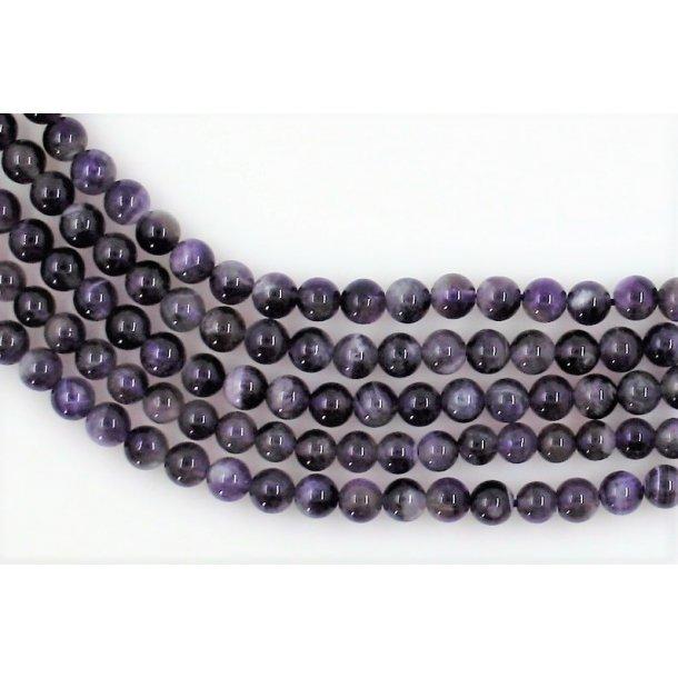 6mm ametyst sten perle