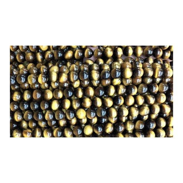 6mm tigerøje sten perle