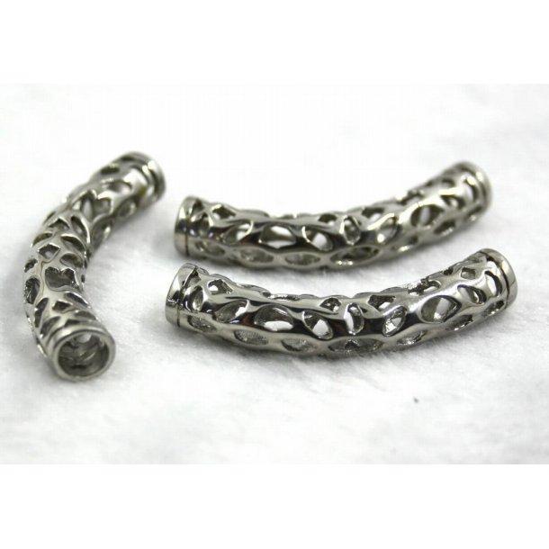 stål charms 5-001, 5mm hul.
