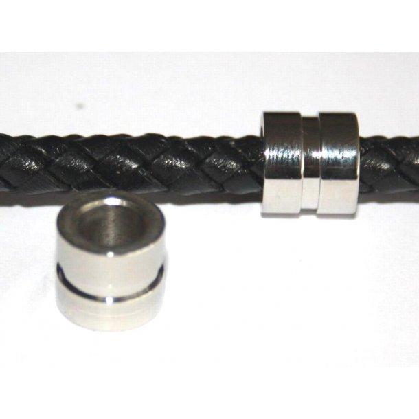 stål charms 6-002, 6mm hul.