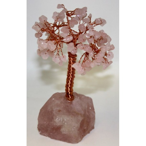 rosa kvarts træ