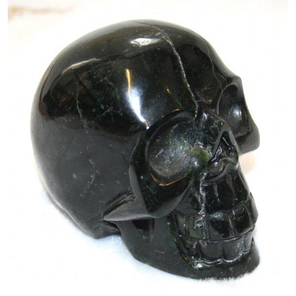 dødningehoved sort jade